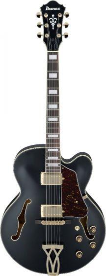 Ibanez AF Artcore Black Flat AF75G BKF Hollow Body Electric Guitar[, AF75GBKF]