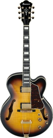 Ibanez AF Artcore Expressionist Antique Yellow Sunburst AF95FM AYS Hollow Body Electric Guitar[, AF95FMAYS]