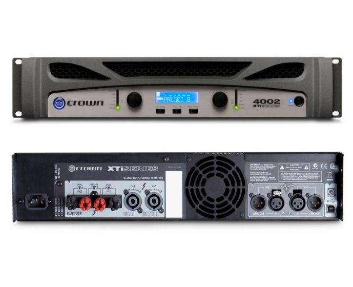 Crown XTi 4002 Two-Channel 1200W Power Amplifier, XTI4002