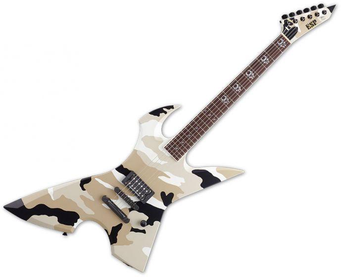 ESP Max Cavalera RPR Electric Guitar in Black Desert Camo, EMAXRPRBDC