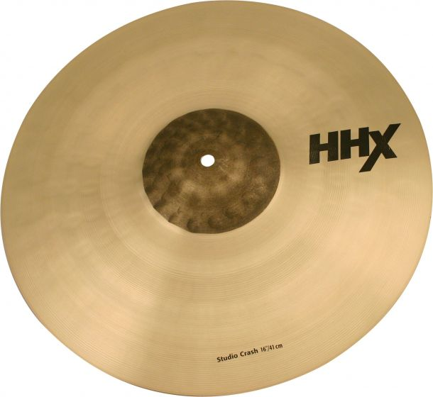 "Sabian 16"" HHX Studio Crash, 11606XN"