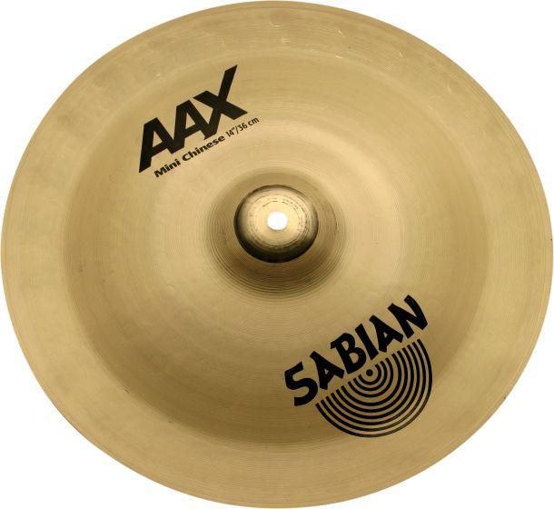 """Sabian 14"""" AAX Mini Chinese Brilliant Finish, 21416XB"""