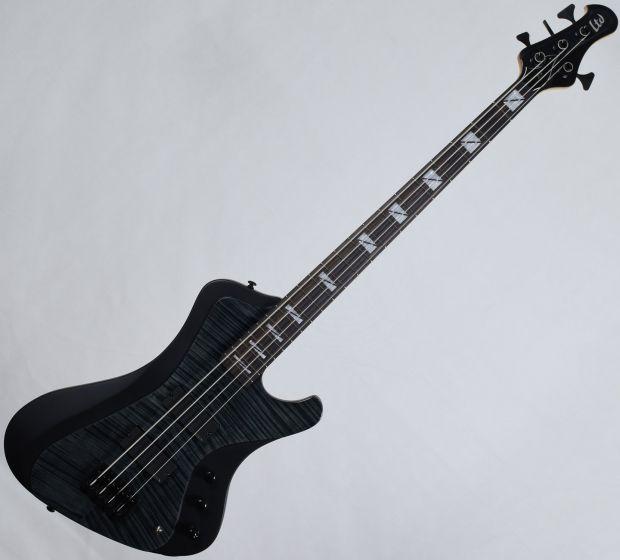 ESP LTD John Campbell JC-4FM Signature Electric Bass See Thru Black Satin Sides, LJC4FMSTBLKSS