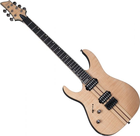 Schecter Banshee Elite-6 Left-Handed Electric Guitar Gloss Natural, 1255