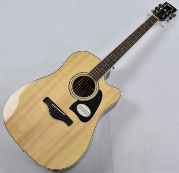 Ibanez AW535CE-NT Artwood Series Acoustic Electric Guitar in Natural High Gloss Finish B-Stock CD140406308[, AW535CENT.B 6308]
