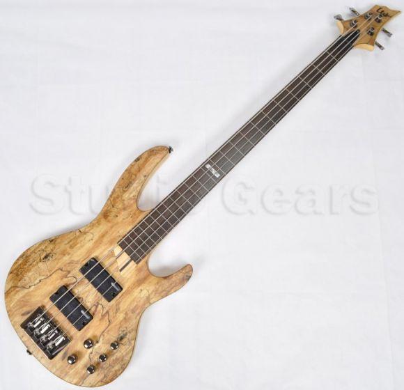 ESP LTD B-204SM Fretless Electric Bass in Natural Satin B-Stock, LTD.B204SM.FL.NS-B