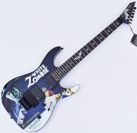 ESP LTD KH-WZ Kirk Hammett White Zombie Guitar Black B-Stock, LKHWZ