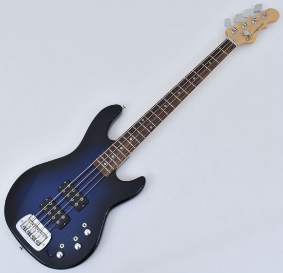 G&L Tribute L-2000 Bass in Blueburst with Rosewood Fingerboard Demo, L-2000 Blueburst RW