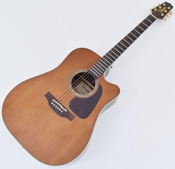 Takamine P5DC-WB Dreadnought Acoustic Electric Guitar Whiskey Brown B-Stock, TAKP5DCWB.B
