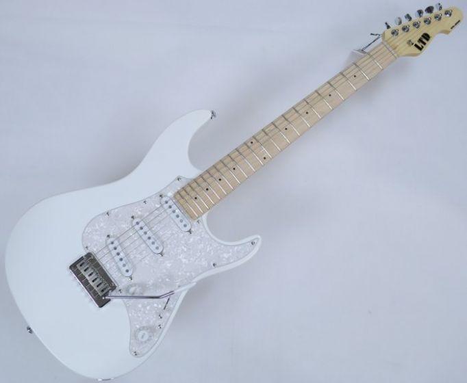 ESP LTD SN-200W Electric Guitar in Snow White, SN-200W SW