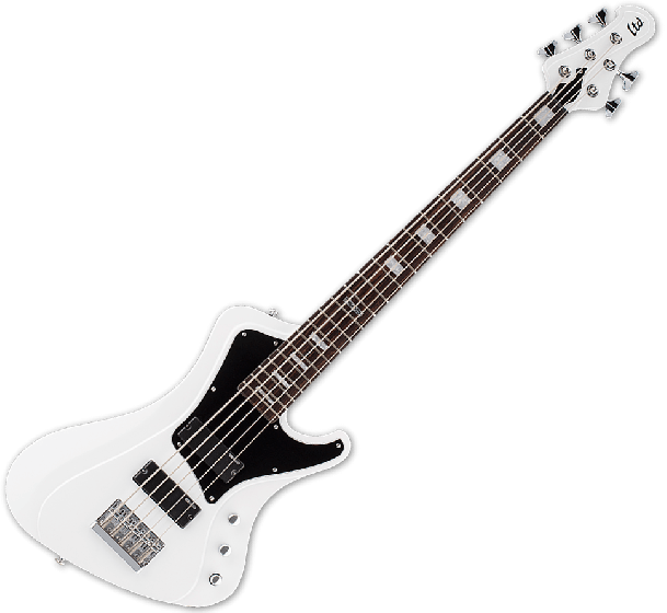 ESP LTD Stream-205 Electric Bass in Snow White[, LSTREAM205SW]