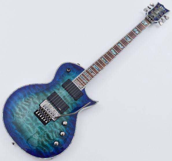 ESP LTD Deluxe EC-1000FR Electric Guitar in Violet Shadow, EC-1000FR VSH
