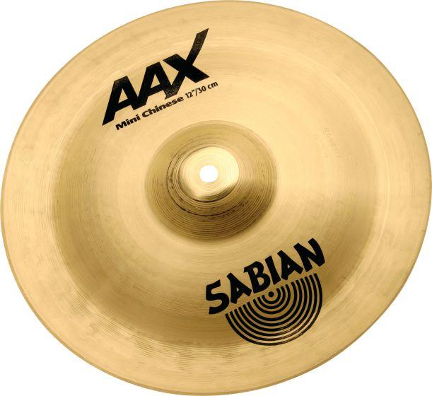 """Sabian 12"""" AAX Mini Chinese Brilliant Finish, 21216XB"""