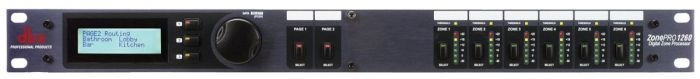 dbx 1260 12x6 Digital Zone Processor, DBX1260V