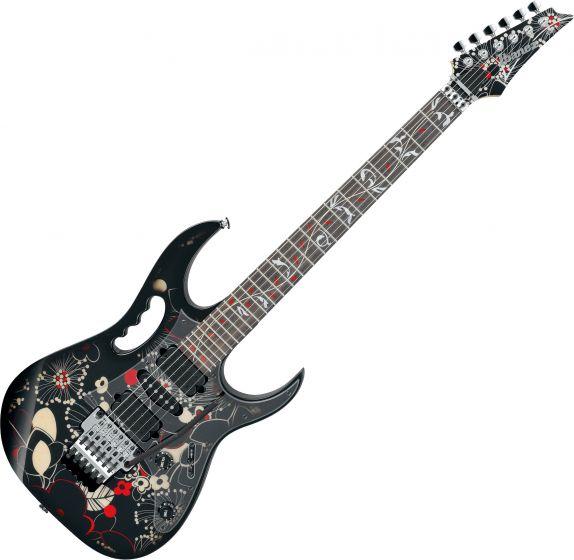 Ibanez Steve Vai JEM77FP2 Signature Electric Guitar Floral Pattern 2, JEM77FP2