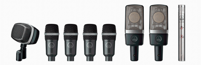AKG Drum Set Premium Reference Drum Microphone Set, 2581Z00141