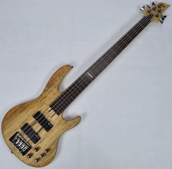 ESP LTD B-205SM Fretless Electric Bass in Natural Satin B-Stock, LTD.B205SM.FL.NS-B