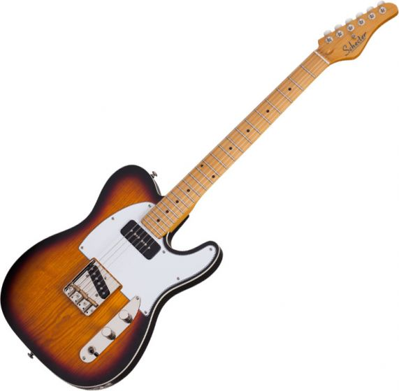 Schecter PT Special Electric Guitar 3-Tone Sunburst Pearl[, 665]