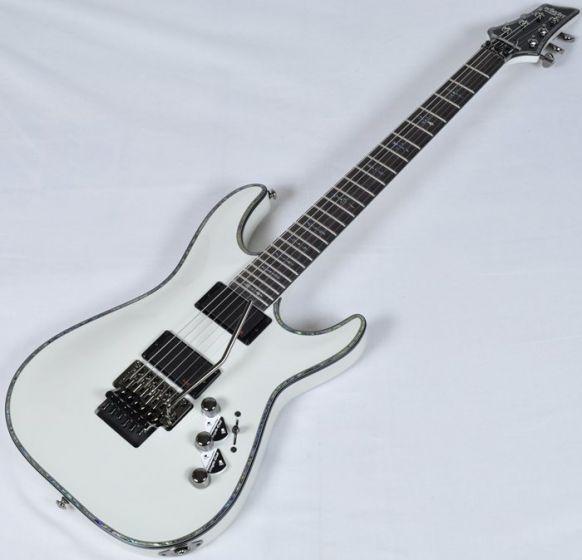 Schecter Hellraiser C-1 FR Electric Guitar Gloss White, 1809