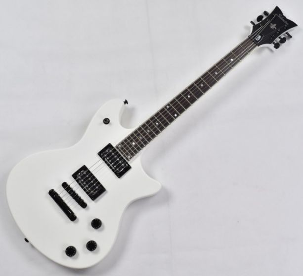 Schecter Jerry Horton Tempest Special Prototype Electric Guitar Satin White, 256.P 1230