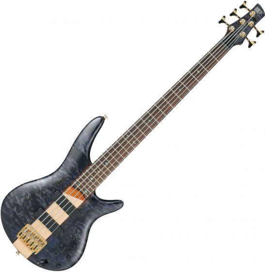 Ibanez SR Standard SR805 5 String Electric Bass Deep Twilight Flat[, SR805DTF]