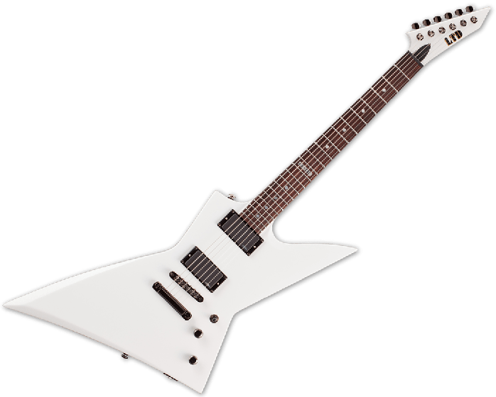 ESP LTD EX-360 Electric Guitar in Snow White B-Stock, LTD EX-360 SW