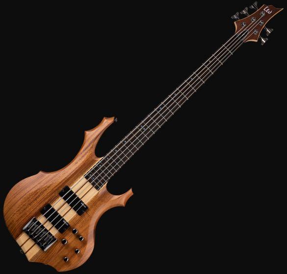 ESP LTD F-5E Bass Guitar in Natural Stain Finish[, F-5E-NS]