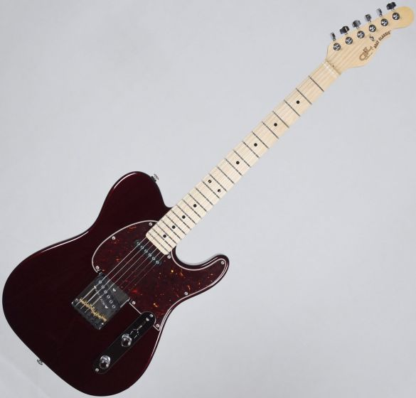 G&L USA ASAT Classic Electric Guitar Ruby Red Metallic, USA ASTCL-RBY-MP 2062
