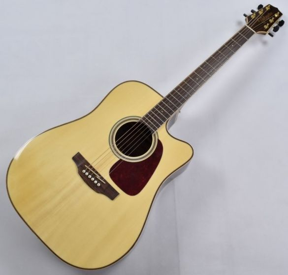 Takamine GD93CE-NAT G-Series G90 Cutaway Acoustic Electric Guitar Natural B-Stock, TAKGD93CENAT.B