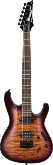 Ibanez S Standard S621QM DEB Dragon Eye Burst Electric Guitar, S621QMDEB
