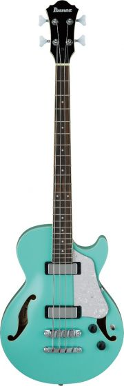 Ibanez AGB260 Artcore 4 String Electric Semi-Hollow Body Sea Foam Green Bass Guitar, AGB260SFG
