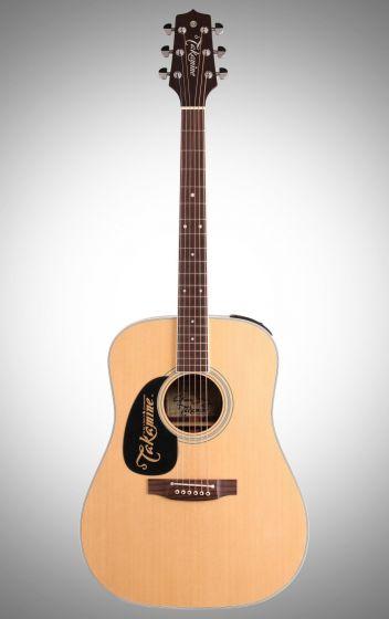 Takamine EF360GF Glenn Frey Signature Left-Handed Acoustic Guitar in Natural, TAKEF360GFLH