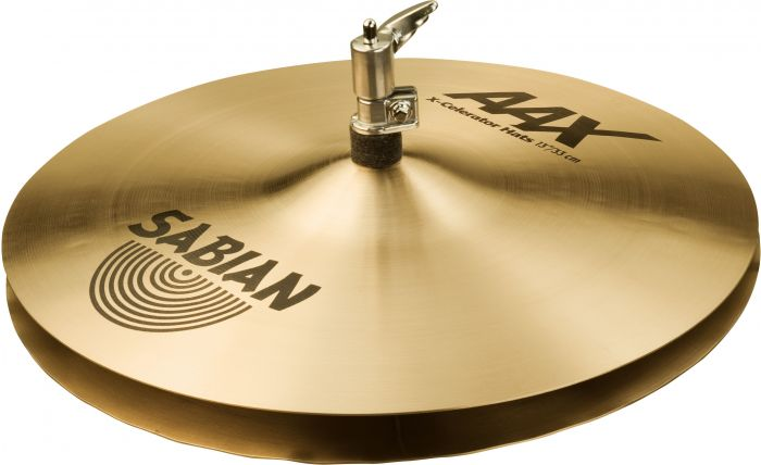 "Sabian 13"" AAX X-Celerator Hats Brilliant Finish, 21302XLB"