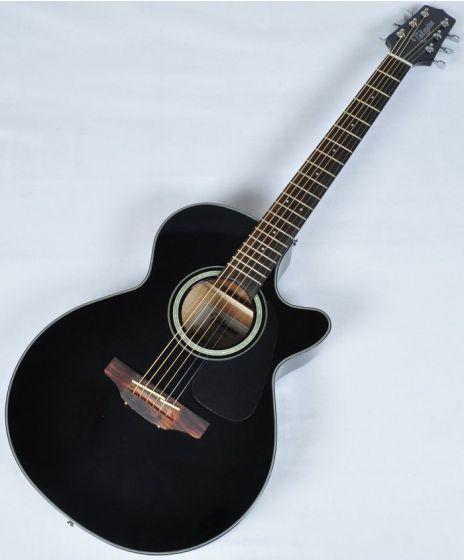 Takamine GF30CE-BLK Cutaway Acoustic Electric Guitar in Black Finish B-Stock CC130614201, TAKGF30CEBLK B-Stock 201