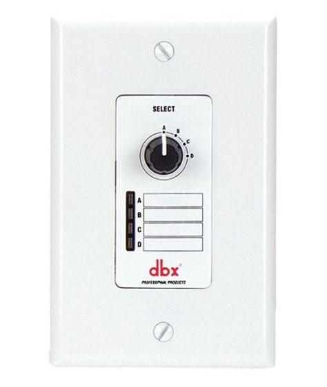 dbx ZC3 Wall-Mounted Zone Controller, DBXZC3V