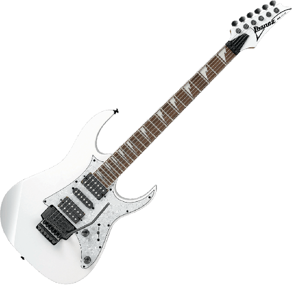 Ibanez RG Standard RG450DXB Electric Guitar in White, RG450DXBWH