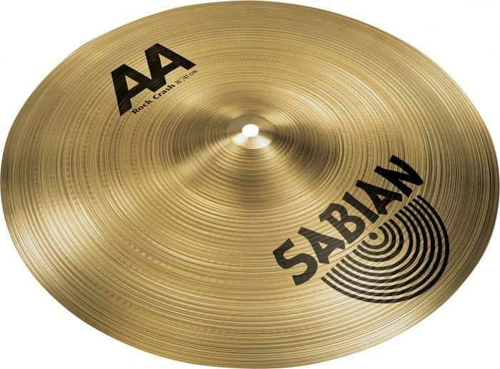 "Sabian 16"" AA Rock Crash, 21609"