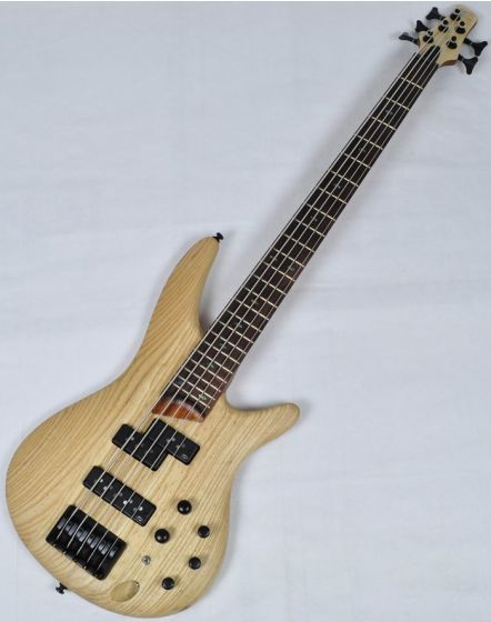 Ibanez SR655-NTF SR Series 5 String Electric Bass in Natural Flat Finish[, SR655NTF]