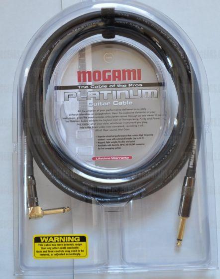 Mogami Platinum Guitar R Cable 12 ft., PLATINUM GUITAR-12R