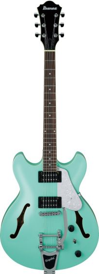 Ibanez AS63T SFG AS Artcore Vibrante Sea Foam Green Semi-Hollow Body Electric Guitar, AS63TSFG