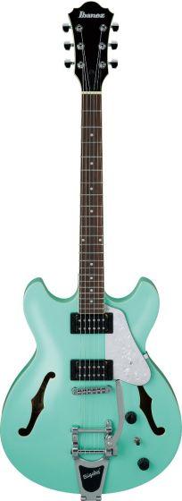 Ibanez AS63T SFG AS Artore Vibrante Sea Foam Green Semi-Hollow Body Electric Guitar, AS63TSFG