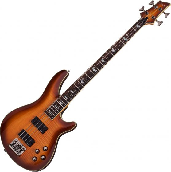 Schecter Omen Extreme-4 Electric Bass in Vintage Sunburst Finish, 2048