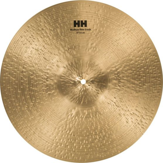 "Sabian 17"" HH Medium-Thin Crash, 11707"