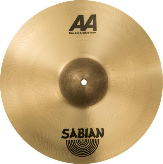 """Sabian 16"""" AA Raw Bell Crash, 2160772"""