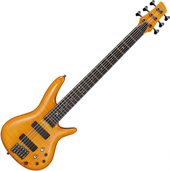 Ibanez GVB36AM Gerald Veasley Electric Bass Amber, GVB36AM
