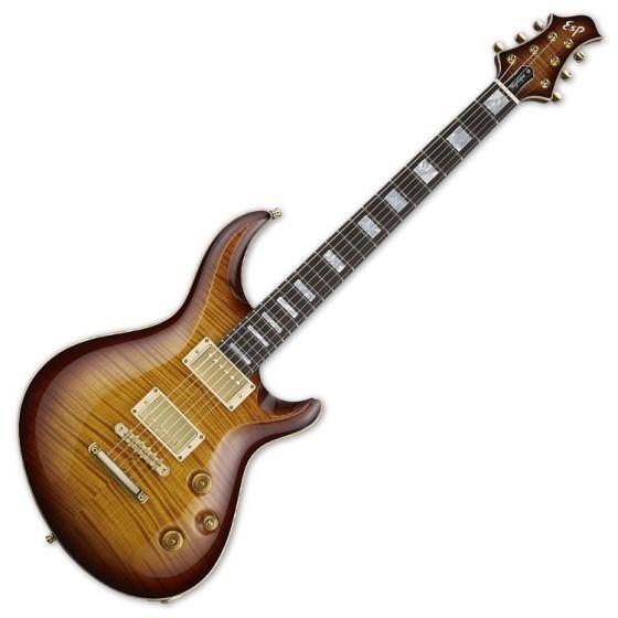 ESP Mystique CTM Original Series Electric Guitar in Tea Sunburst, EMYSTCTMTEASB