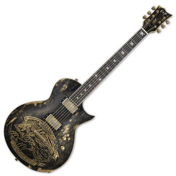 ESP Will Adler Warbird Distressed Signature Electric Guitar, ESP Will Adler Warbird Distress