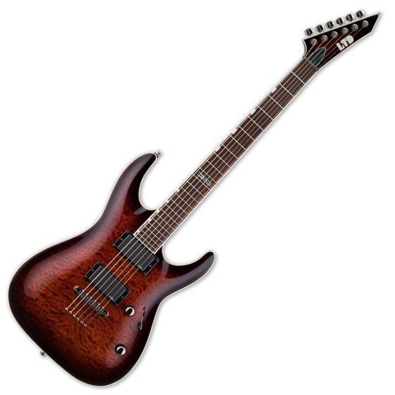 ESP LTD MH-350NT Electric Guitar in Dark Brown Sunburst B-Stock[, LTD.MH350NT.DBSB-B]