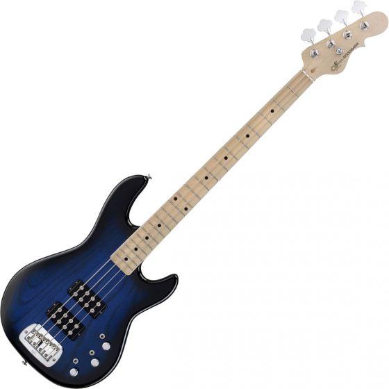 G&L Tribute L-2000 Bass Guitar in Blueburst Finish, L2000.MP.BLB-A