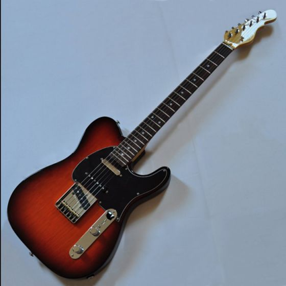 "G&L ASAT Classic ""S"" Alnico USA Custom Made Guitar Launch, G&L ASAT Classic S Autumn Burst"
